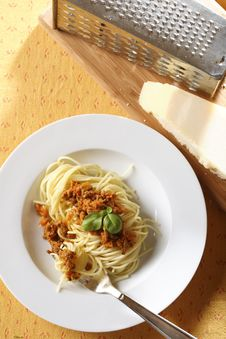 Free Spaghetti Bolognese Stock Images - 5069154