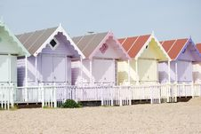 Free Holiday Chalets On The Beach Royalty Free Stock Photography - 5069367