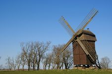 Free Windmill Royalty Free Stock Images - 5069819