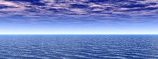 Free Sea Sky Royalty Free Stock Photography - 5069937