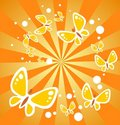 Free Butterflies And Beams Royalty Free Stock Images - 5077829