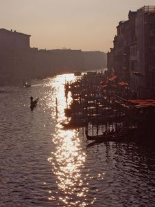 Venice: Canal Grande Royalty Free Stock Images