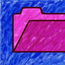 Free Folder Painting Royalty Free Stock Image - 5070446