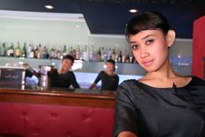Free Three Bar Staff Stock Photography - 5070672
