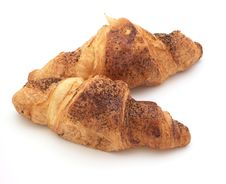 Free Croissants With Cinnamon Stock Image - 5070801