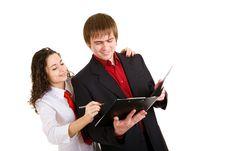 Free Signing Documents Royalty Free Stock Image - 5071416