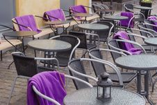Free Outdoor Café Royalty Free Stock Photos - 5071708