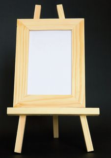Free Blank Picture Sitting On Easel - Vertical Stock Image - 5071921