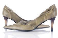 Free Elegant Woman Shoes Stock Image - 5072141