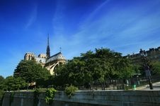 Free Notre Dame Basilica In Paris Stock Photo - 5072420