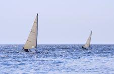 Free Sailing Boats On The Sea Royalty Free Stock Photo - 5072775