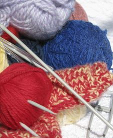 Free Knitting9 Royalty Free Stock Photos - 5072788