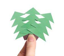 Free Holding Christmas Trees Stock Photos - 5072953