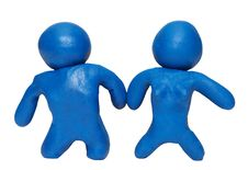 Free Modelling Clay Pair Stock Images - 5073074