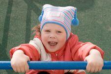 Free Hanging Child Royalty Free Stock Photos - 5073228