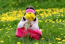 Free Little Girl Royalty Free Stock Image - 5073926