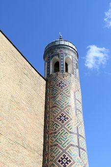 Fragment Of Minaret Stock Image