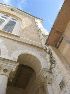 Free Latrun Holy Land Monastery Stock Photography - 5074312