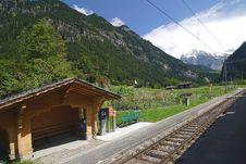 Free Railways Of Switzerland Royalty Free Stock Photos - 5074438