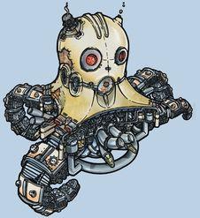 Free Robot002 Royalty Free Stock Image - 5075666