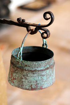 Hanging Pot Royalty Free Stock Images