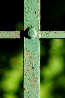 Free Fence Details Stock Image - 5076011
