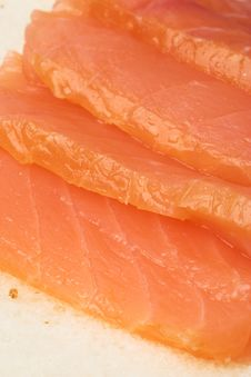 Free Salmon Slices Stock Images - 5077204