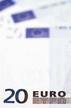 Free Money - 20 Euro Note Detail Stock Photo - 5078600
