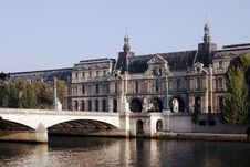 Free Seine River, Paris, France Royalty Free Stock Image - 5078686