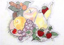 Free Illustration Of Fruits Hand-drawn Stock Photos - 5078843
