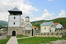 Free Orthodox Monastery Royalty Free Stock Photo - 5080715