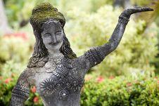 Free Buddha Figurines Made Of Stone, Thailand, Buddha P Royalty Free Stock Photography - 5080717
