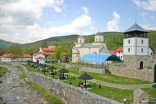 Free Orthodox Monastery Stock Image - 5080891