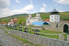 Free Orthodox Monastery Royalty Free Stock Photography - 5080897