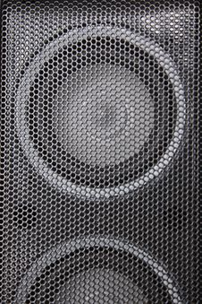 Free Speaker Close-up Royalty Free Stock Image - 5081266