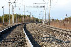 Free Railroad Royalty Free Stock Image - 5081296