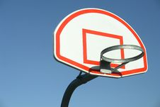 Free Basketball Hoop Isolated Royalty Free Stock Photos - 5081878