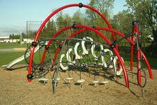Free Outdoor Playground Gym Child Stock Photos - 5081933