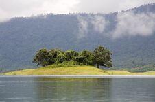 Free Nam Ngum Reservoir, Laos Stock Photo - 5082890