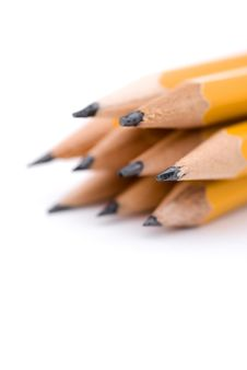 Free Macro Of Pencils Royalty Free Stock Image - 5083306