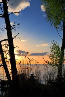 Free Wild Sunset On North Sea Stock Photography - 5083472