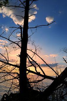 Free Wild Sunset On North Sea Stock Photo - 5083530