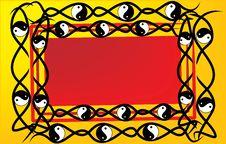 Free Yinyang Frame Royalty Free Stock Images - 5083799
