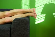 Free Relaxed Man Stock Photo - 5084120