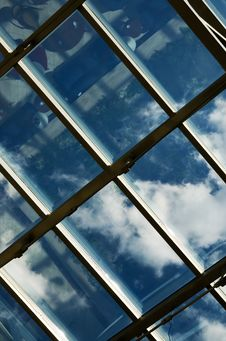 Free Ceiling Of An Office Stock Photos - 5084523