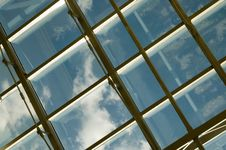 Free Ceiling Of An Office Royalty Free Stock Image - 5084566