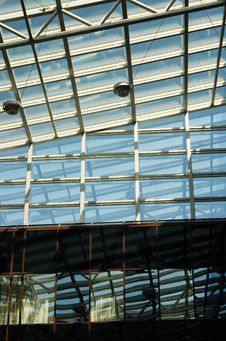 Free Ceiling Of An Office Royalty Free Stock Images - 5084579