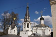 Free Russian Church In Kotovo Stock Images - 5085244