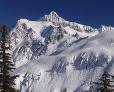 Free Skiing Near Shuksan Stock Photos - 5085313