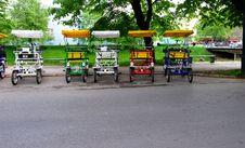 Free Cab Bicycle Stock Image - 5085411